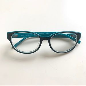 Navy & green glasses - Cole Haan - 135mm